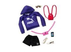 Mattel Barbie značkové oblečky a doplňky modrá mikina PUMA