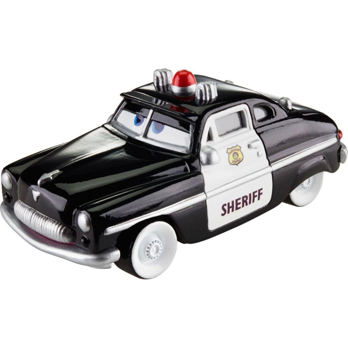 Mattel Cars 3 auta 12 cm Sheriff