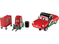 Mattel Cars 3 auta 2 ks Alex Machino a Giuseppe Motorosi