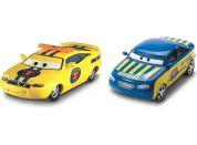 Mattel Cars 3 auta 2 ks Charlie Checker a Race Official Tom