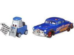 Mattel Cars 3 auta 2 ks Double Clutch Daley a Fabulous Hudson