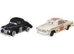 Mattel Cars 3 auta 2 ks Heyday Junior Moon a Leroy Heming