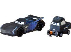 Mattel Cars 3 auta 2 ks Jackson Storm a Laura Spinwell