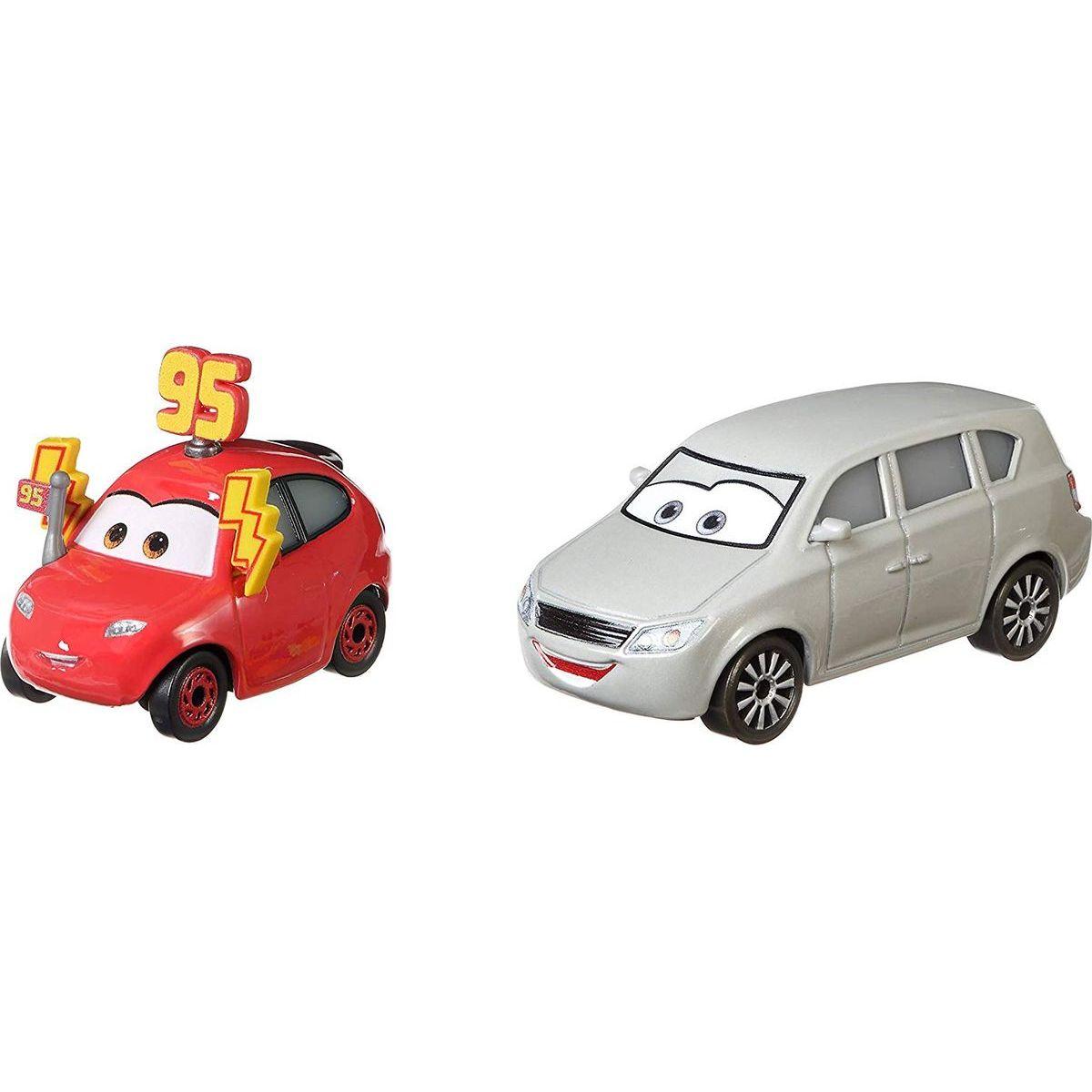 Mattel Cars 3 auta 2 ks Maddy McGear a Melissa Bernabrake