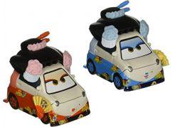 Mattel Cars 3 auta 2 ks Okuni a Shigeko - Poškozený obal