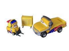 Mattel Cars 3 auta 2 ks Turbo Bullock a John Lassetire