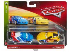 Mattel Cars 3 auta 2 ks Raoul Caroule a Jeft Corvette