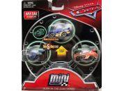 Mattel Cars 3 Mini auta 3ks Glow in the dark series FPT73