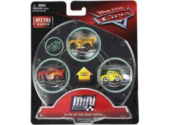 Mattel Cars 3 Mini auta 3ks Glow in the dark series FPT78