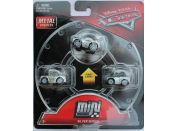 Mattel Cars 3 Mini auta 3ks Silver series