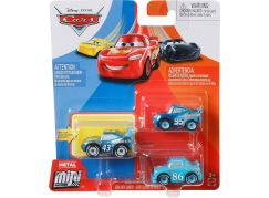 Mattel Cars 3 mini auta metal 3ks Dinoco Daydream Series