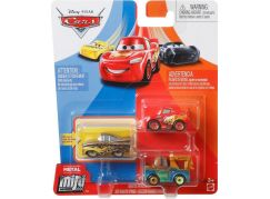 Mattel Cars 3 mini auta metal 3ks Radiator Springs Sries