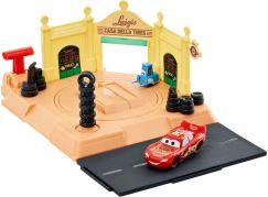 Mattel Cars action shifters herní set Luigiho obchod s pneumatikami