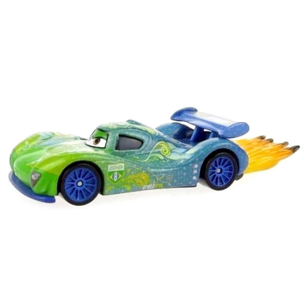 Mattel Cars Auta - Carla Veloso with flames