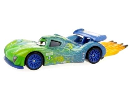 Mattel Cars Auta - Carla Veloso with flames