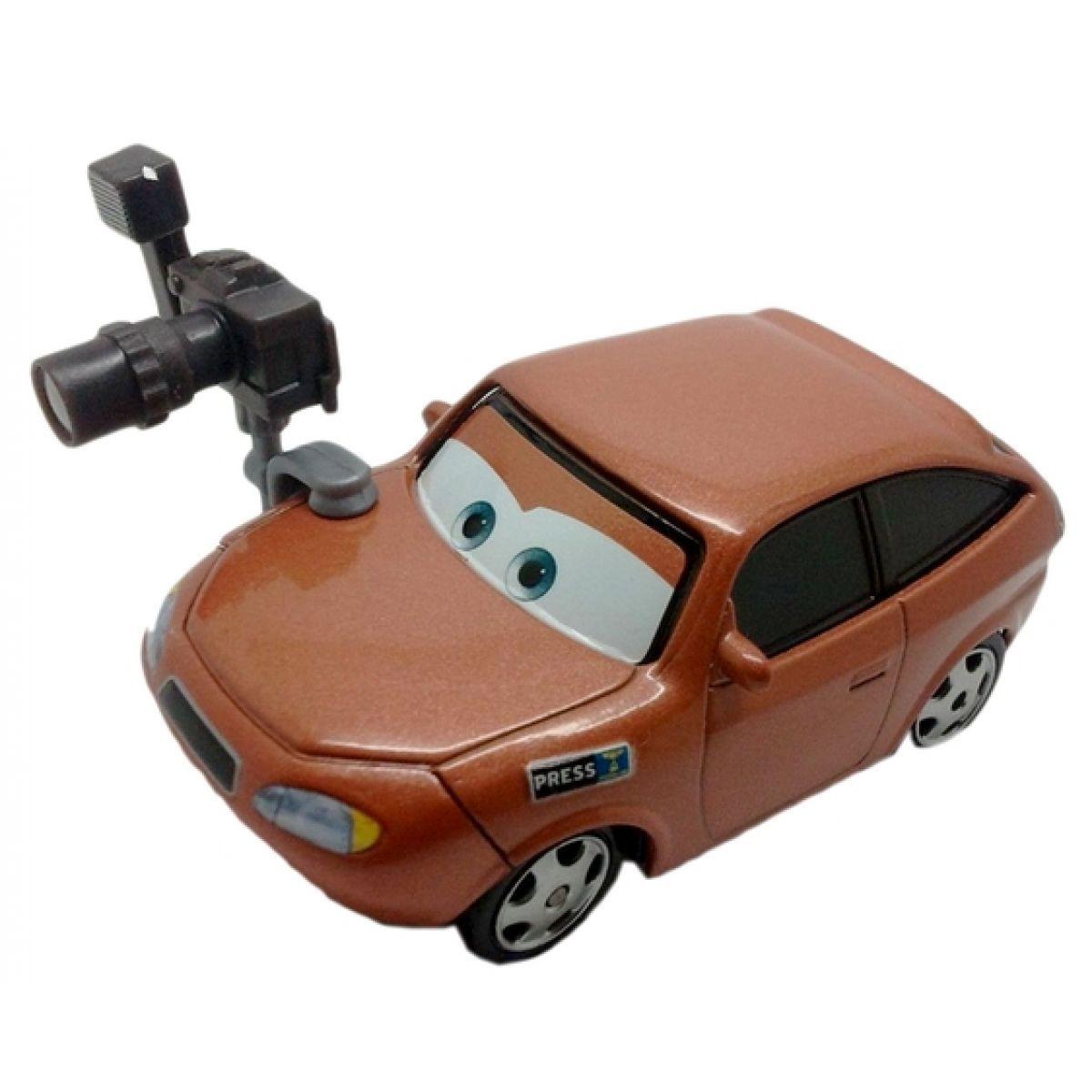 Mattel Cars Auta - Cora Copper