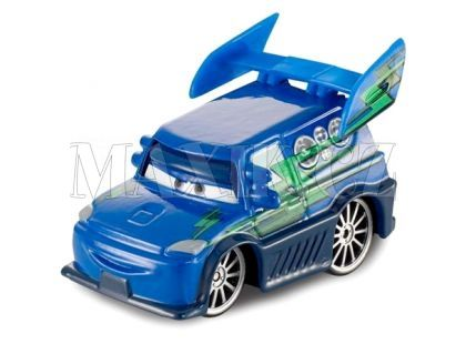 Mattel Cars Auta - DJ With Flames