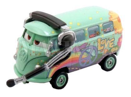 Mattel Cars Auta - Fillmore with headset