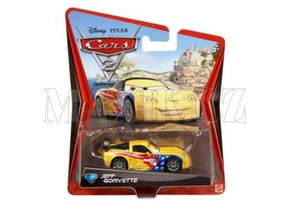 Mattel Cars Auta - Jeff Gorvette