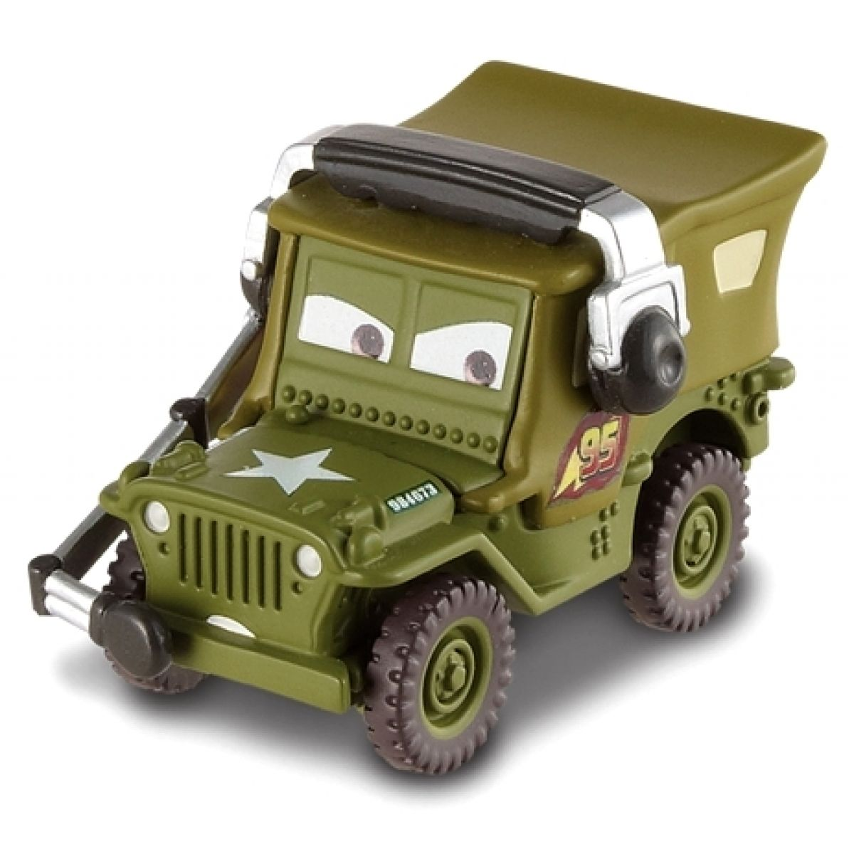 Mattel Cars Auta - Race Team Sarge