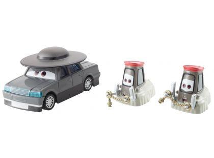Mattel Cars Autíčka 2ks - Father Burke a Cardinal Antonio & Angelo