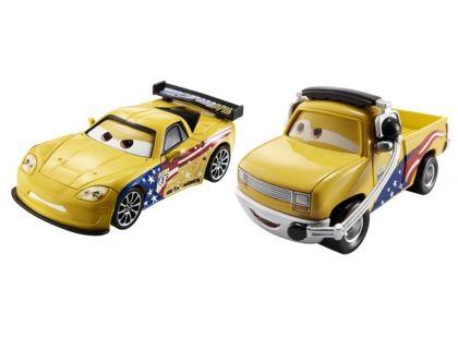 Mattel Cars Autíčka 2ks - John Lassetire a Jeff Gorvette