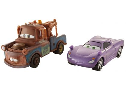 Mattel Cars Autíčka 2ks - Mater a Holley Shiftwell