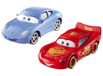 Mattel Cars Autíčka 2ks - McQueen a Sally