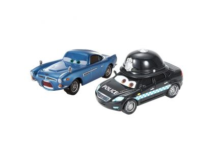 Mattel Cars Autíčka 2ks - Speedcheck a Finn McMissile