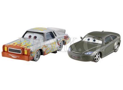 Mattel Cars Autíčka 2ks - Bob Cutlass a Darrell Cartrip