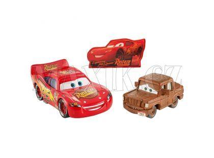 Mattel Cars Autíčka 2ks - McQueen a Fred