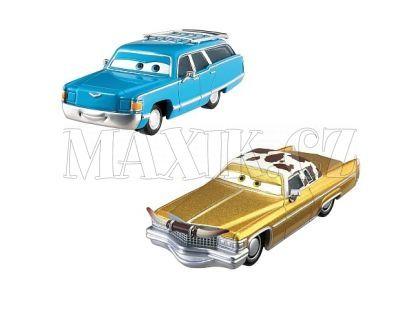 Mattel Cars Autíčka 2ks - Mrs. The King a Tex Dinoco