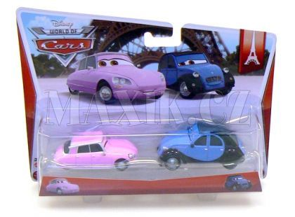 Mattel Cars Autíčka 2ks - Nancy a John