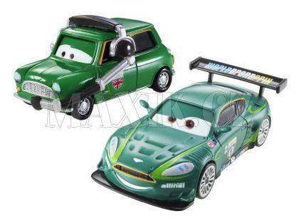 Mattel Cars Autíčka 2ks - Nigel Gearsley a Austin Littleton