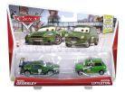 Mattel Cars Autíčka 2ks - Nigel Gearsley a Austin Littleton 2