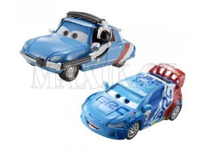 Mattel Cars Autíčka 2ks - Raoul Caroule a Bruno Motoreau