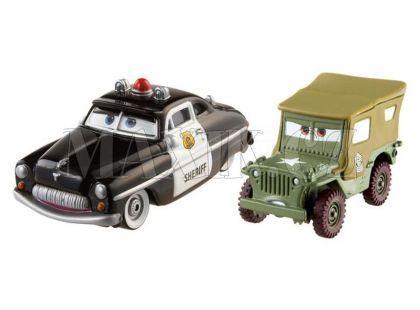 Mattel Cars Autíčka 2ks - Sheriff a Sarge