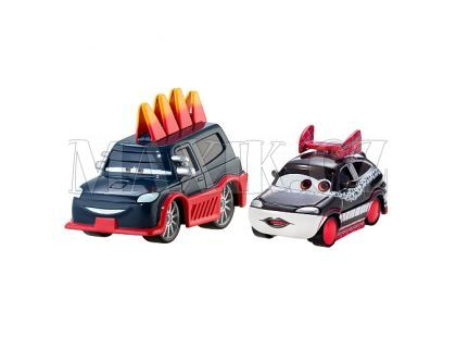 Mattel Cars Autíčka 2ks - Yokoza a Chisaki