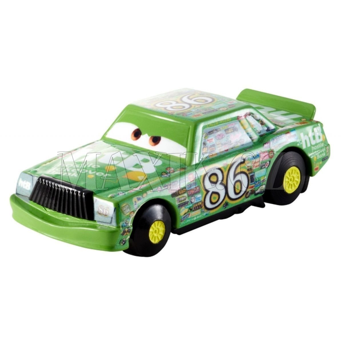 Mattel cars kaskad rsk auta chick hicks max kovy hra ky - Coloriage cars chick hicks ...