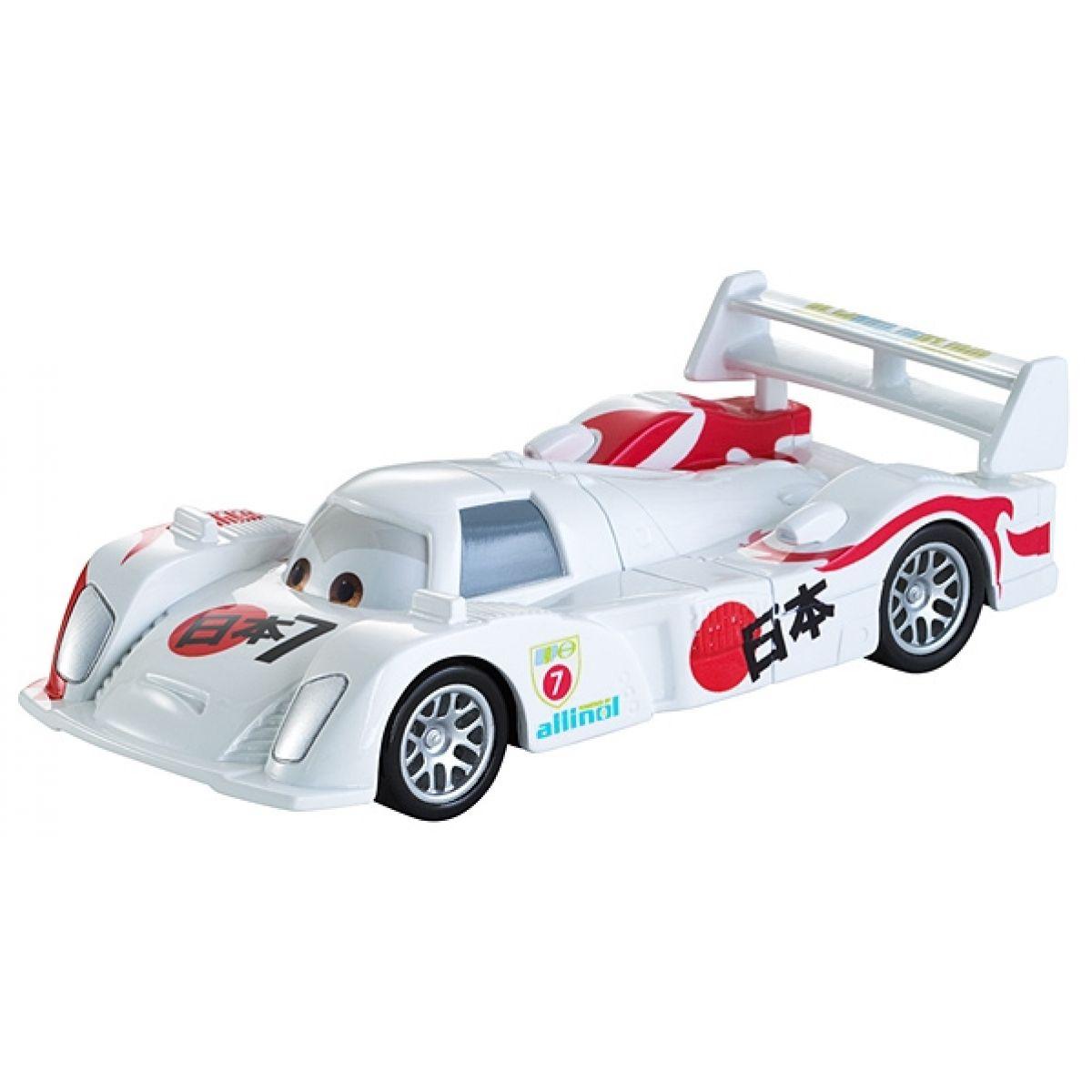 Mattel Cars Natahovací auta - Shu Todoroki