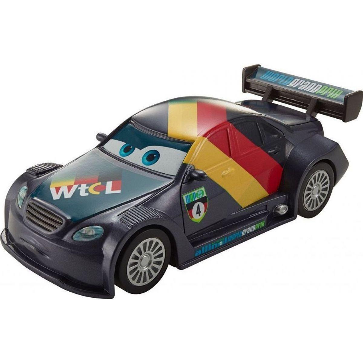 Mattel Cars natahovací autíčko fialový