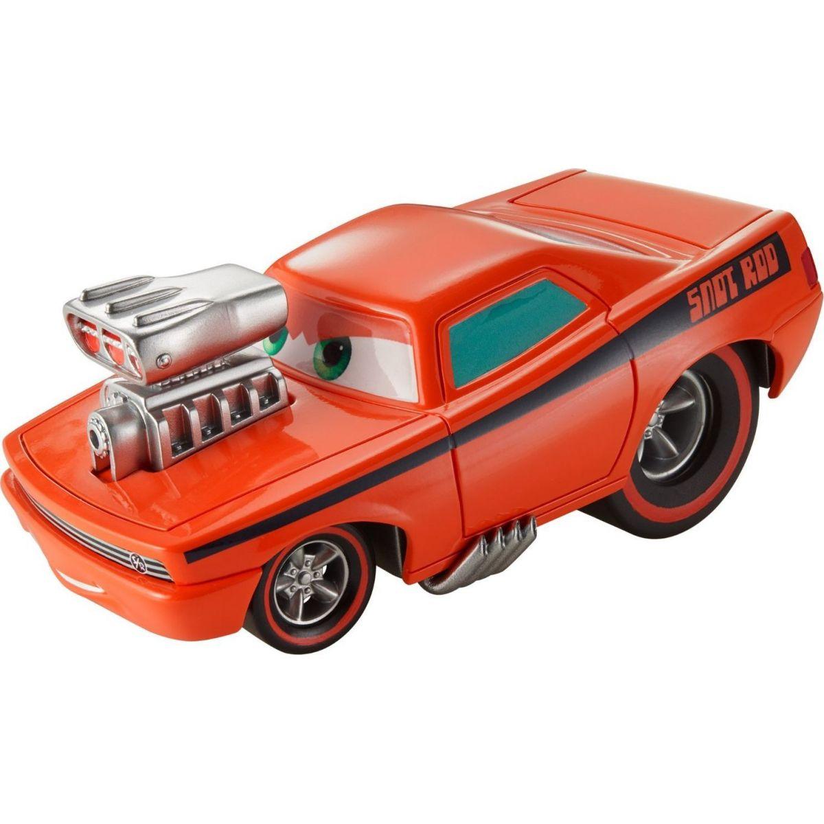 Mattel Cars natahovací autíčko oranžový