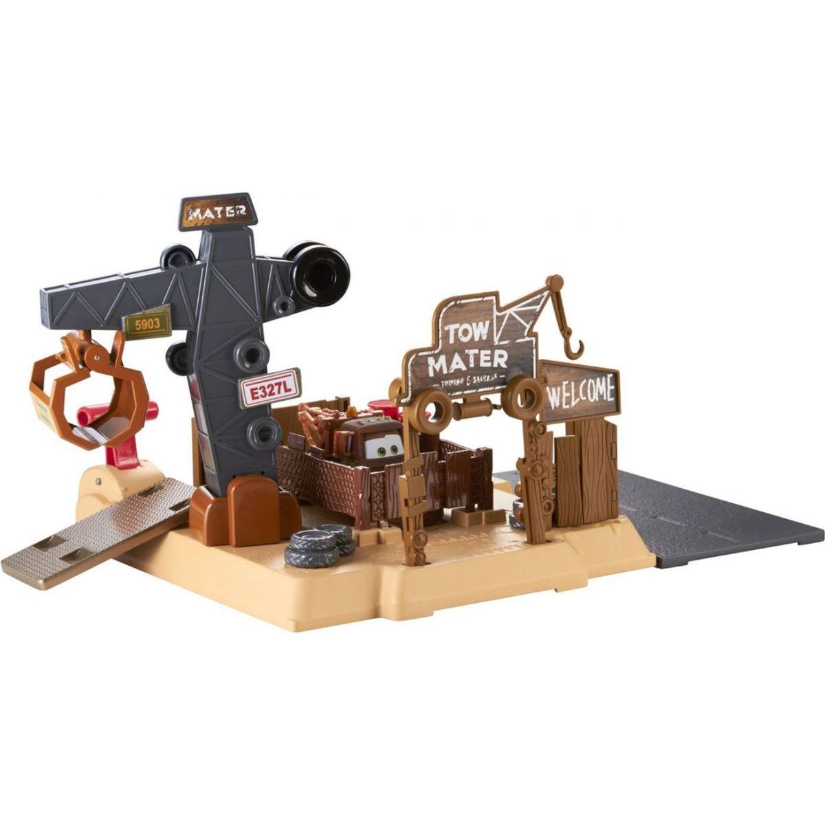 Mattel Cars Set pro údržbu aut - Burákovo vrakoviště
