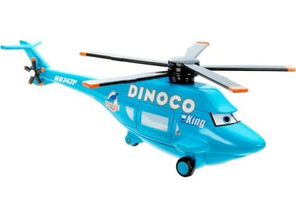 Mattel Cars Velká auta - Dinoco Helicopter