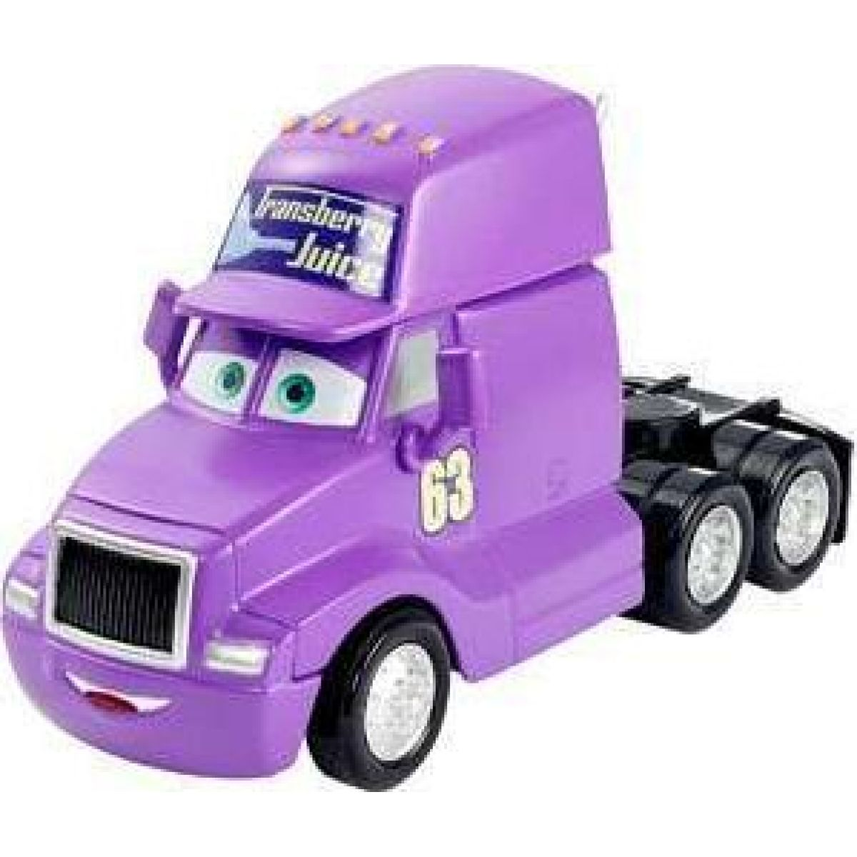 Mattel Cars Velká auta Transberry Juice Cab