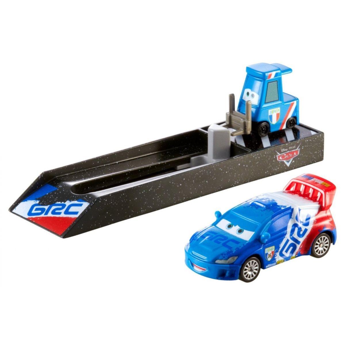 Mattel Cars Vystřelovač s autíčkem - Raoul Caroule