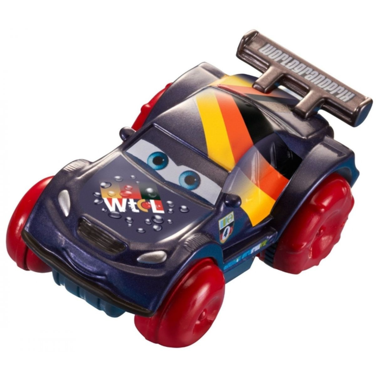 Mattel Cars Závodní auto do koupele - Max Schnell