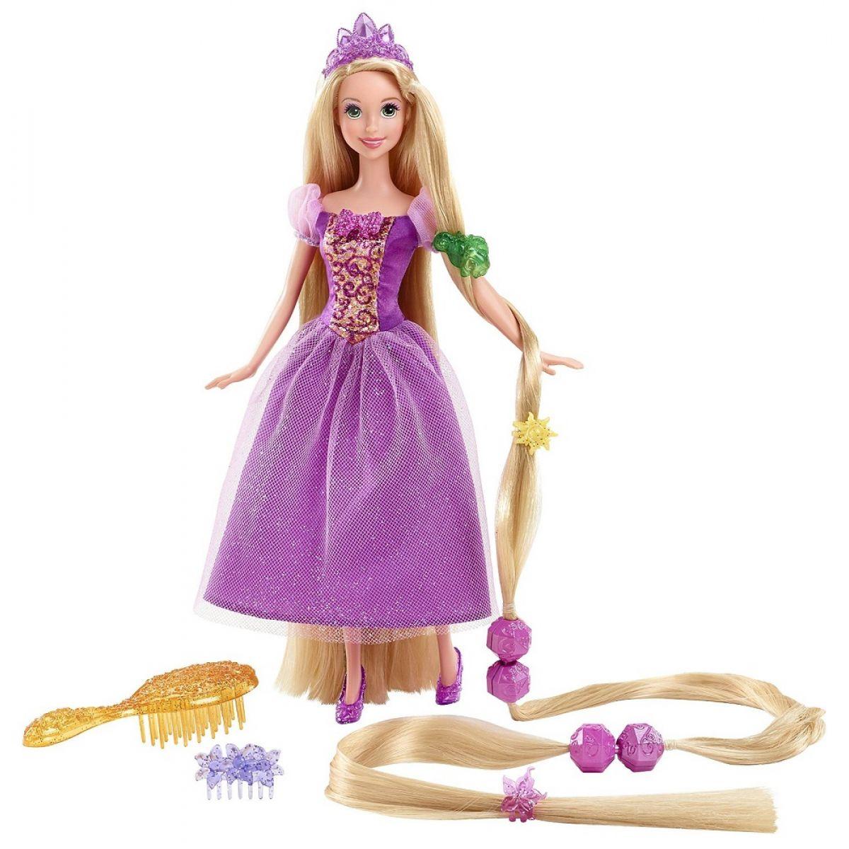 Mattel Disney Locika s nejdelšími vlasy - Pohádkové vlasy