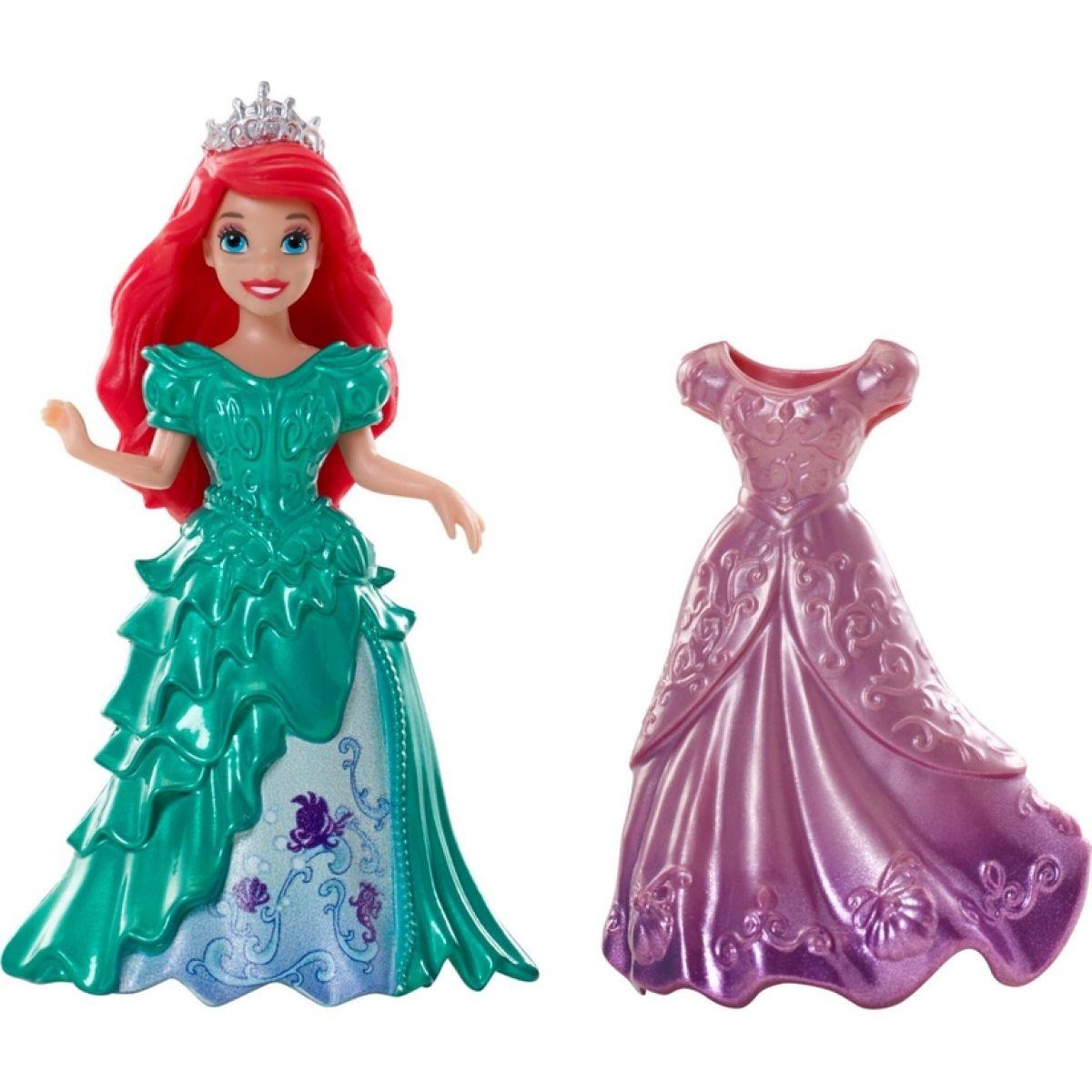 Mattel Disney Princezna s kouzelnými šaty - Ariel