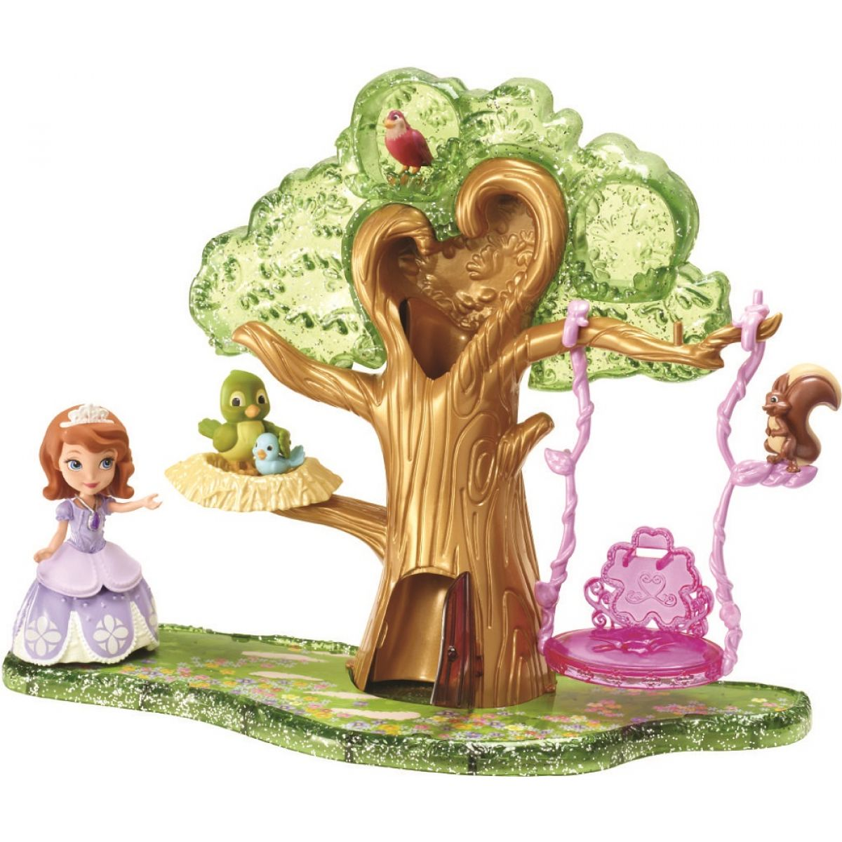 Mattel Disney Sofie a strom se zvířátky